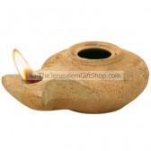 Clay Oil Lamp - Herodian - Mount Zion