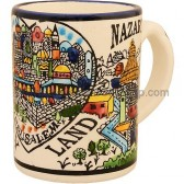 Large Holy Land Ceramic Mug