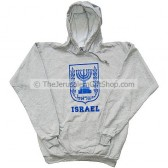Emblem of Israel Hoodie