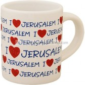 Mini Mug - I Love Jerusalem
