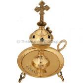 Incense Burner from Jerusalem - Brass