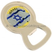 Bottle Opener with Israeli Flag