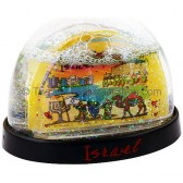 Israel Subway Snow Ball