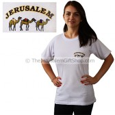 Jerusalem Camels T-Shirt - Small Logo