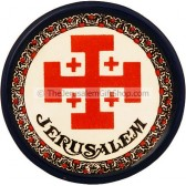 Jerusalem Cross Ceramic Coaster