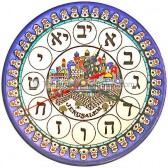 Jerusalem - Armenian Ceramic Clock