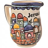 Jerusalem Armenian Milk Jug