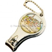 Jerusalem Bottle Opener and Nail Clippers