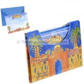 10 Notelets With Envelopes - Jerusalem