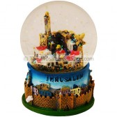 Snow Ball - Jerusalem Walls and City in 3D