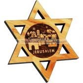 Star of David Jerusalem Fridge Magnet