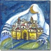 Tallit over Jerusalem