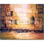 Jerusalem Western Wall by night