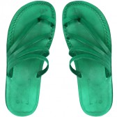 Leather Jesus Sandals - Emmaus Style - Colored