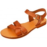 Jesus Sandals - Capernaum - Handmade from Leather in the Holy Land