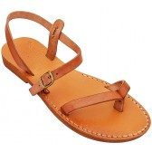 Jesus Sandals - Mount of Olives - Handmade from Leather in the Holy Land
