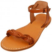 Jesus Sandals - Sea of Galilee - Handmade from Leather in the Holy Land