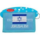 Israeli Flag Souvenir Wallet