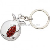 Karshi Silver Pomegranate Key Chain