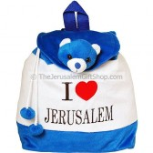 Kids Backpack - I Love Jerusalem