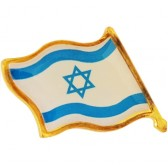 Israeli Flag Lapel Pin