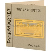 24k Gold Plated 'The Last Supper' Bookmark