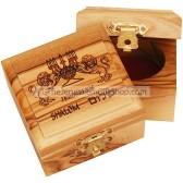 Small Olive Wood Lion of Judah Box