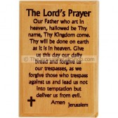 Olive Wood Magnet - The Lord's Prayer