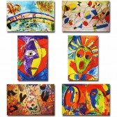 Makor HaTikva 'Abstract - Impressionist Collection' Card Set