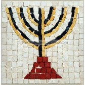 Children's Kit - Menorah Mosaic
