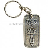Keychain - Messianic Seal of Jerusalem