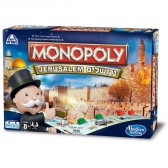 WHOLESALE - MONOPOLY Jerusalem Family Game in Hebrew and English - 14 Unit Case