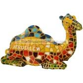 Mosaic Camel Sitting - Jerusalem