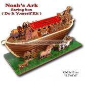 Noah's Ark - Do It Yourself Kit - Money Box