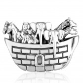 `GraceLet` Bracelet Noah's Ark Silver Bible Themes by Marina
