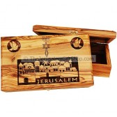 Large Olive Wood Box - Grafted In Jerusalem