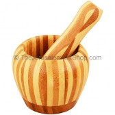 Olive Wood Mortar and Pestle