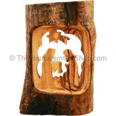 Olive Wood Branch - Nativity Scene