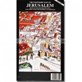 Panoramic Map of Jerusalem