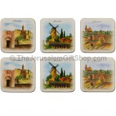 Art from Jerusalem Coaster Set