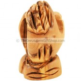Praying Hands - Olive Wood - Small