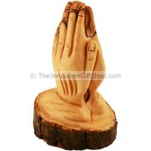 Praying Hands - Olive Wood - Branch Piece