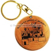Keychain - Pray for the Peace of Jerusalem