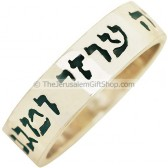 Psalm 28:7 Scripture Ring - Lord my strength my Shield