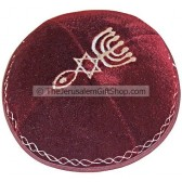 Velvet Grafted In Kippa - Purple