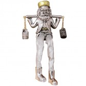Hassidic Jew Figurine - Carrying Milk Urns