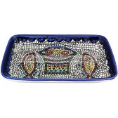 Armenian Ceramic Rectangle Tabgha Dish