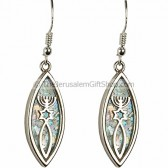 Grafted in Roman Glass Earrings