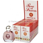 Display Case of 14 x 7.5 ml Rose of Sharon Anointing Oils