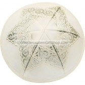 Star David Satin Kippah
